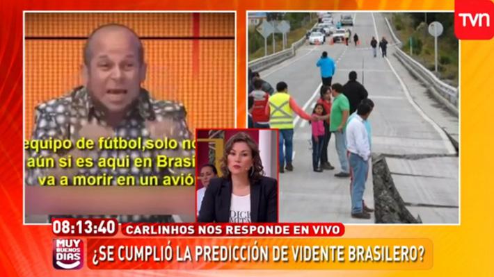 """TVN ofrece disculpas públicas tras polémicas """"predicciones"""" del vidente Carlinhos en el matinal"""