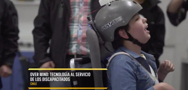 Over Mind, el revolucionario proyecto chileno que controla una silla de ruedas a través de ondas cerebrales