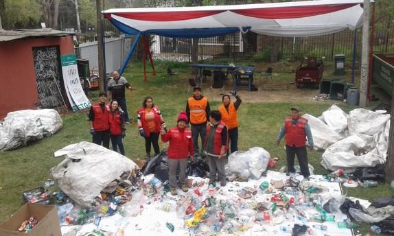 recicladores-en-parque-ohiggins