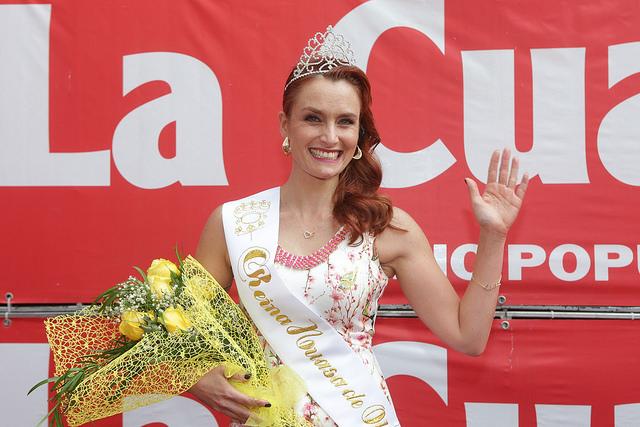 La aplaudida donación de Begoña Basauri a Bomberos tras ser coronada reina de Olmué