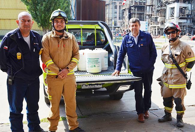 Recursos y concentrado de espuma: lo que necesitan los bomberos que combaten los incendios forestales