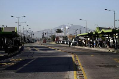 Paro del recorrido 300 del Transantiago: más de mil choferes comienzan protesta