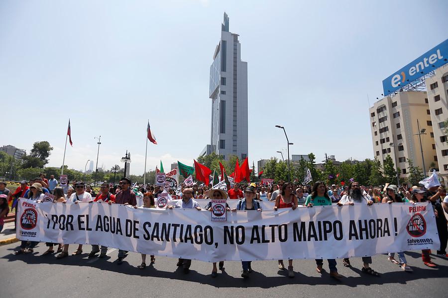 Superintendencia de Medio Ambiente inició proceso sancionatorio contra proyecto Alto Maipo