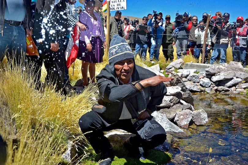 Evo Morales nos advierte