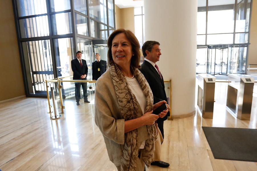 Ex ministra de Educación Mariana Aylwin es víctima de un portonazo en Vitacura