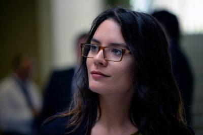 La particular celebración de Camila Vallejo por aprobarse en general el aborto en tres causales