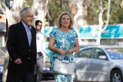 """Cecilia Morel le da el """"sí"""" a Piñera por posible candidatura: """"La familia se pone cuando hay que ponerse"""""""
