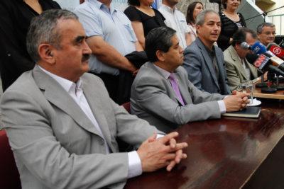 Este lunes asumió la nueva directiva del Colegio de Profesores sin Jaime Gajardo