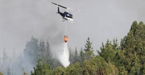 VICHUQUÉN : Incendio forestal donde tres brigadistas de Conaf murieron
