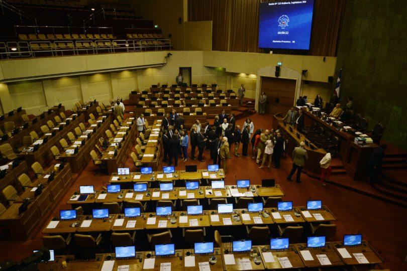 FOTOS | Solo llegaron 36 diputados: fracasa sesión que votaría aumentar pena por violencia intrafamiliar