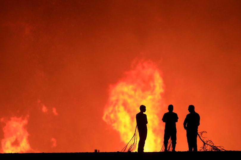 Onemi: 43 incendios activos, 81 viviendas destruidas y 142 personas damnificadas en 7 regiones