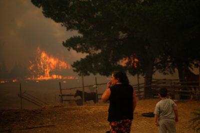 Hacienda anuncia apoyo a habitantes en Zona de Catástrofe por incendios