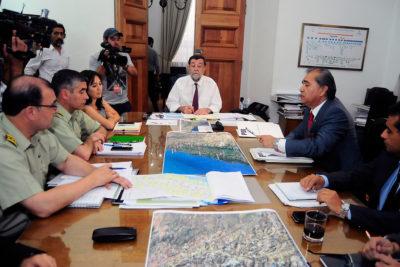 Carabineros confirma 10 detenidos por incendios en el Maule y Ministerio del Interior anuncia querellas