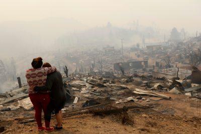 Cuarenta imágenes de la destrucción en Santa Olga, el pueblo que desapareció en medio del fuego