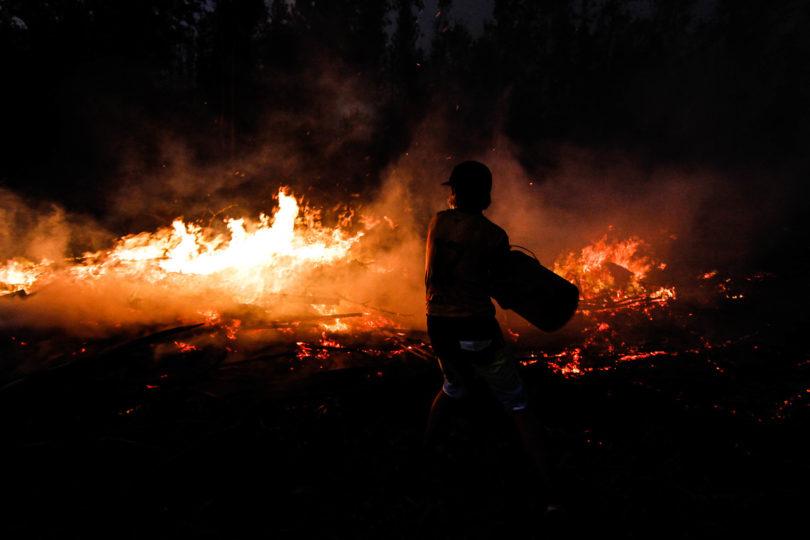 Onemi: de incendios activos, 77 se encuentran en combate y 51 están controlados