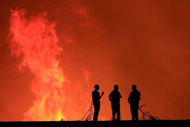 Carabineros detiene a presunto brigadista de Conaf implicado en incendio forestal en Cauquenes