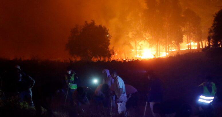 Onemi: 3 mil 782 damnificados y actualmente existen 142 incendios activos
