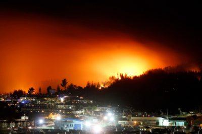 Onemi reporta que incendios activos bajan a 119: despliegue supera las 11 mil personas enfrentando las llamas
