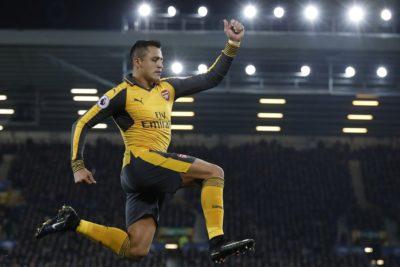 Importante medio británico escogió a Alexis Sánchez como el mejor delantero de la Premier League