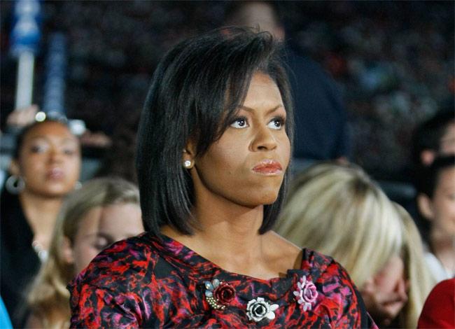 FOTOS  Cinco rostros imperdibles de Michelle Obama durante la ceremonia de investidura de Donald Trump