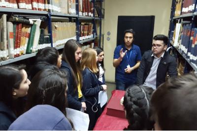 Archivo Nacional y Universidad San Sebastián se unen para acercar el patrimonio histórico a escolares
