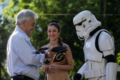 MEMES | Así respondieron al llamado de Piñera a un stormtrooper a proteger a La Araucanía