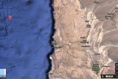 Fuerte temblor en la zona norte del país alerta a habitantes de Iquique
