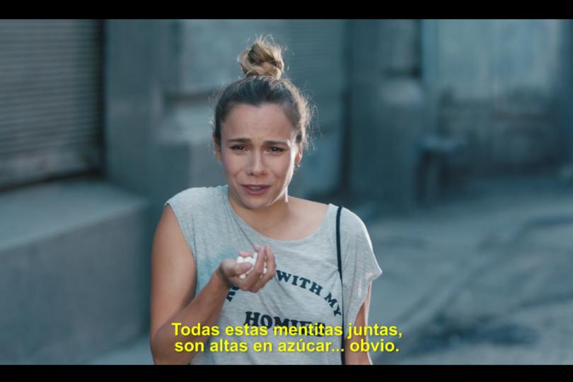 """""""Sabis qué, igual para"""": Actriz de Mega se chatea en vivo con Cecilia Rovaretti por campaña anti-sellos"""