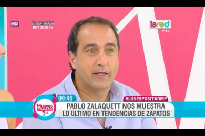 VIDEO  Pablo Zalaquett, el nuevo fashion blogger de la TV: comenta sobre zapatos