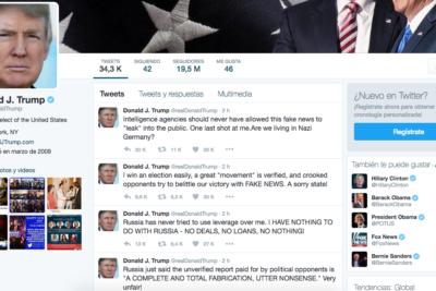 Aburridos de sus publicaciones: dos de cada tres estadounidenses quieren que Trump cierre su cuenta de Twitter