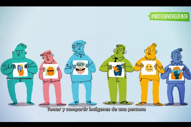 #NoTeDaVergüenza: campaña para sensibilizar a los hombres en su rol en prevención de la violencia sexual