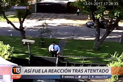 VIDEO |Salen a la luz los registros de las cámaras de seguridad durante atentado a presidente de Codelco