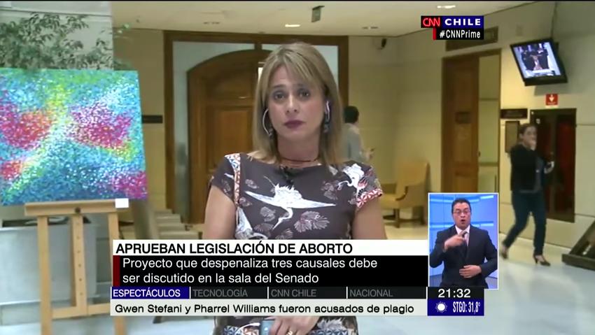 VIDEO   Jacqueline van Rysselberghe lo pasa mal durante entrevista sobre aborto en CNN Chile