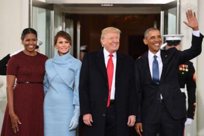 Esta es la (inserte adjetivo) foto oficial del nuevo presidente de Estados Unidos, Donald Trump