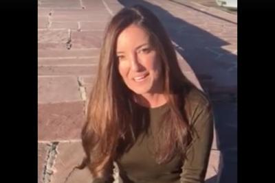VIDEO |Chilena que gestionó el SuperTanker envía nuevo mensaje a todos los que combaten los incendios