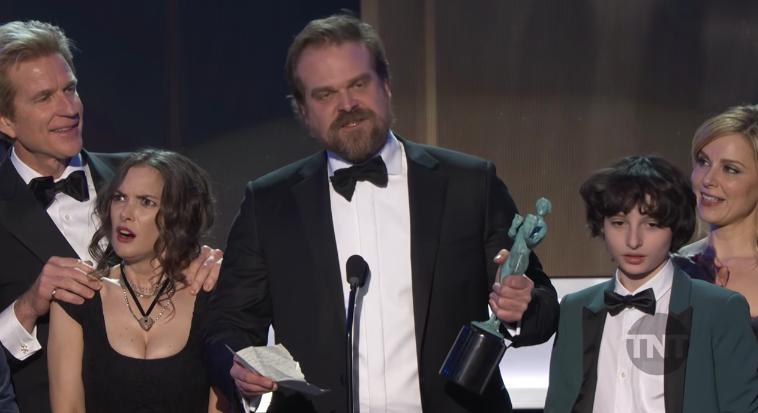 VIDEO  Qué diablos le pasó a Winona Ryder cuando recibió su SAG Awards
