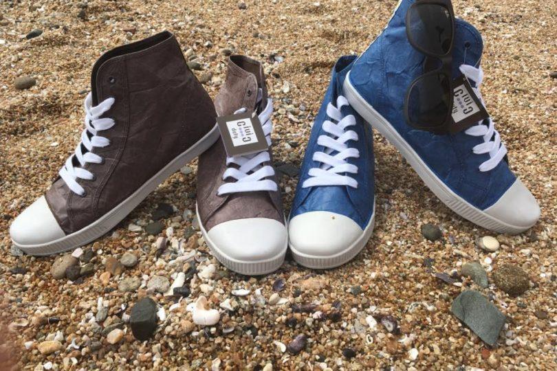 """Ecoline, el emprendimiento chileno de zapatillas reciclables que busca """"generar cambios en el mundo"""""""
