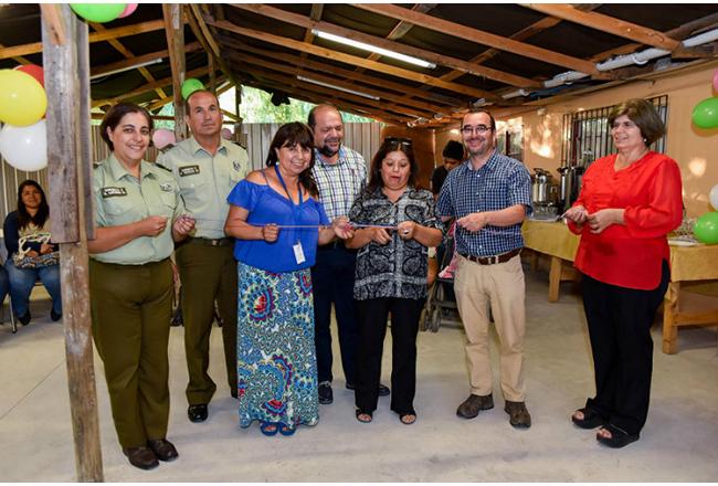 Refinería Aconcagua de ENAP inaugura remodelación de la sede vecinal de Mauco en Quillota