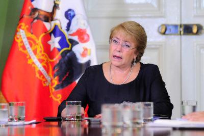 Esta fue la reacción de Bachelet tras enterarse de su peor desaprobación en Cadem