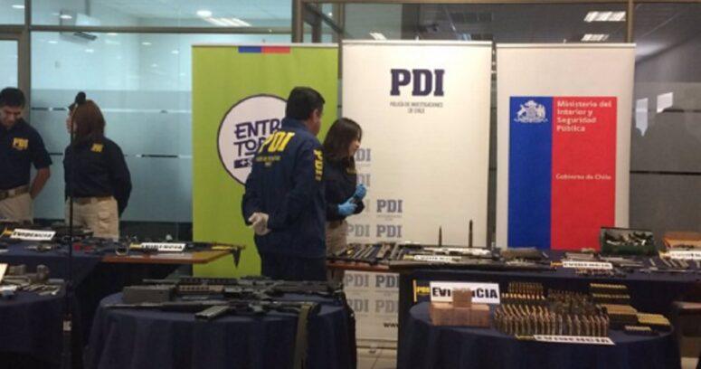 PDI detiene a ex CNI vinculado a crímenes de la Quintrala por tráfico de armas prohibidas