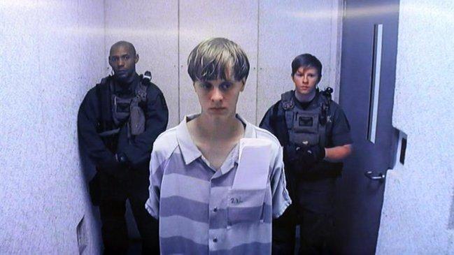 Autor de matanza en iglesia de Charleston fue condenado a pena de muerte en Estados Unidos
