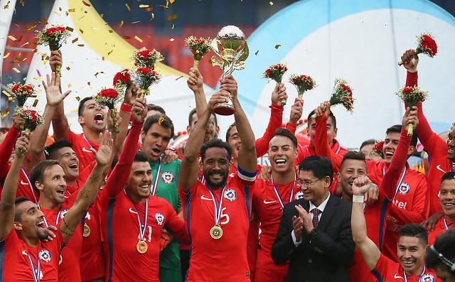 VIDEO |Este fue el gol que le dio la victoria a Chile en la China Cup