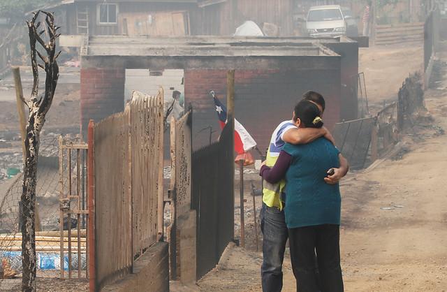 Niño argentino conmueve a todo Chile con su donación a damnificados por incendios
