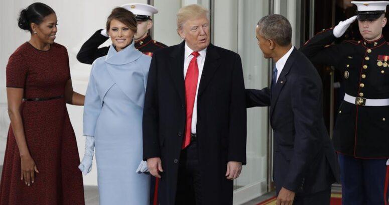 """""""VIDEO   Así fue el momento exacto en que Obama recibió a Trump en la Casa Blanca"""""""