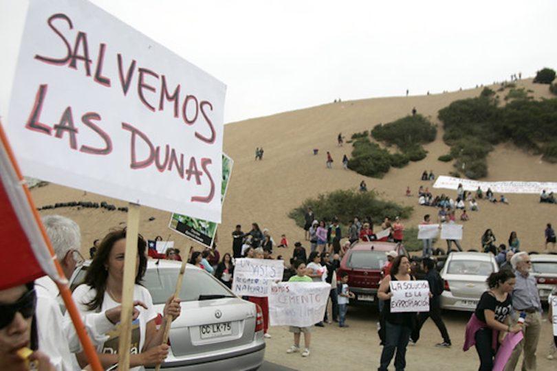 Se admite recurso de protección para las dunas Concón