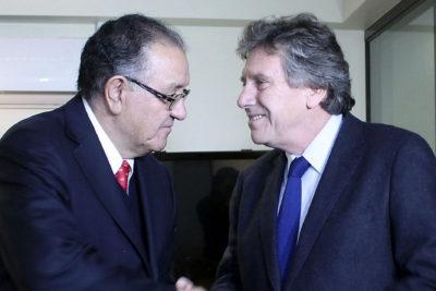 El llamado de atención que Huenchumilla le hizo a Alberto Espina por la violencia en La Araucanía