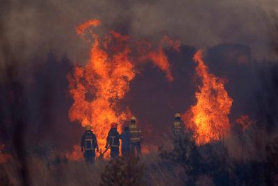 Pancho Saavedra y su foto de un alcalde UDI en los incendios que todos están comentando