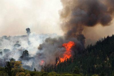 Carabineros encuentra evidencia de uso de acelerante en incendio de Cauquenes