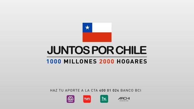 """TVN y Mega anuncian inédita transmisión conjunta para cerrar la campaña """"Juntos Por Chile"""""""