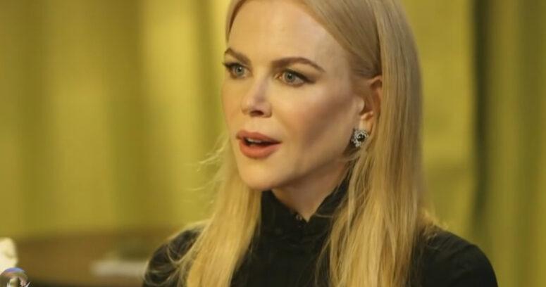 """VIDEO   Nicole Kidman se desmarca de sus colegas y llama a """"apoyar"""" al presidente Trump"""